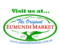 Visit us at Eumundi Markets